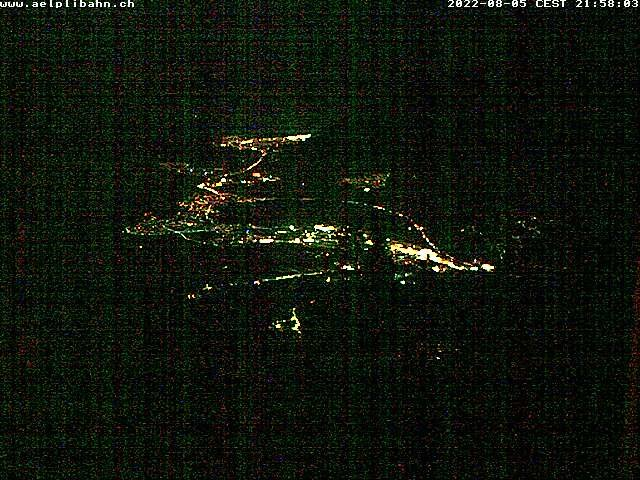 Bergstation Älplibähnli Malans Webcam